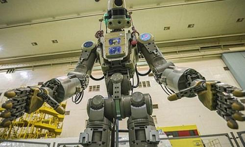 Russian FEDOR humanoid robot